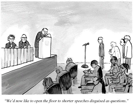 Conference utility-maximisation